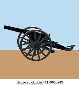 artillery, gun, army, military