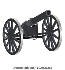 artillery, gun, art