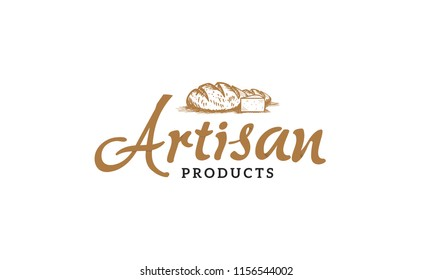 Artisan products logo illustration