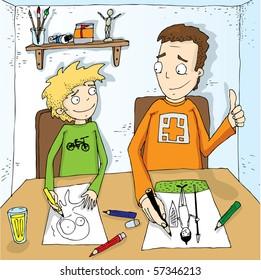 an artist illustration 2