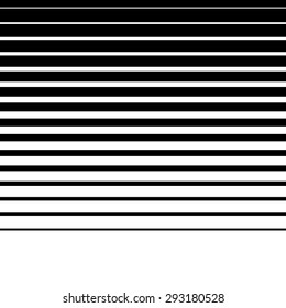 Artistic abstract vector. Parallel lines. Horizontally repeatable.