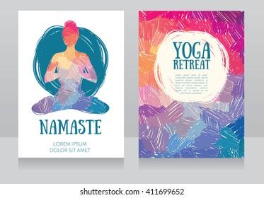 Yoga Flyer Images Stock Photos Vectors Shutterstock