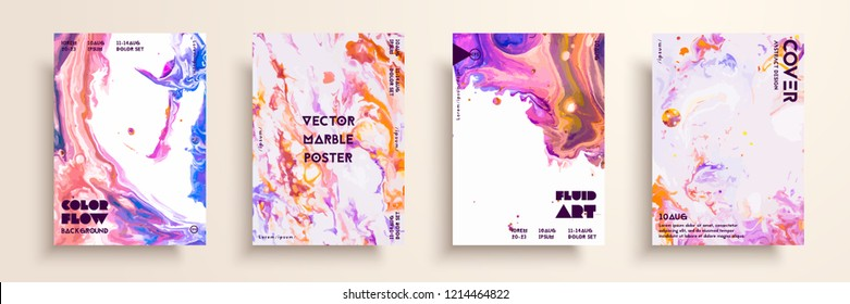 Artistic covers design. Liquid marble texture.Creative fluid colors backgrounds. Applicable for design covers, presentation, invitation, flyers, annual reports, posters and business cards