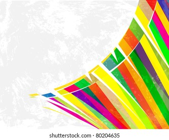 artistic geometric colorful background