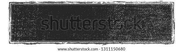Artistic messy wide screen banner background. Dirtty isolated panoramic basis. Paint roller distress overlay texture. Grunge design element. EPS10 vector