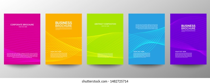 Asbtract background website Landing Page. Template for websites, or apps. Modern design. Abstract vector style.