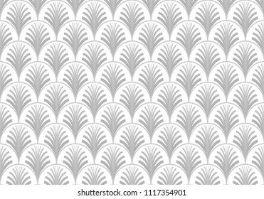 asbtract wallpaper seamless pattern, with art deco modern style, use for fashion texture background, ornament fabric