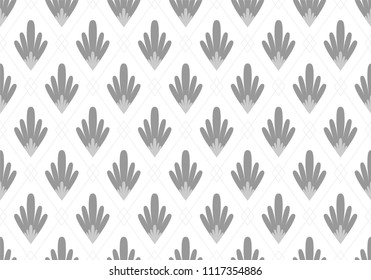 asbtract wallpaper seamless pattern, with modern art deco style, use for fashion texture background, ornament fabric