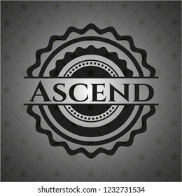 Ascend black emblem. Vintage.