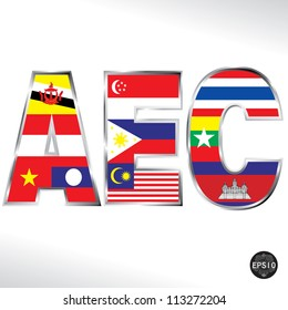 Asean Economic Community, AEC, Vector