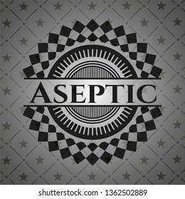 Aseptic dark badge