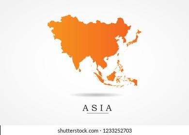 Imágenes, fotos de stock y vectores sobre Japan Asia Map ...