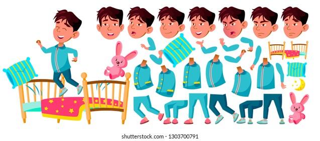Kinder Slaapkamer Set.Kinder Slaapkamer Stockillustraties Afbeeldingen En Vectoren