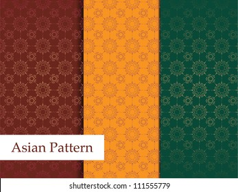 Asian Pattern - Detailed and easily editable