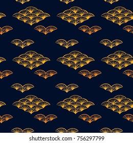 Asian pattern. Kabuki. Japanese doodles. Kabuki theatre elements. Kimono. Asia culture symbols. Oriental ornament. Chinise sketch. Fashion. China. Japan. Singapore. Korea. Vietnam. Fabric design.
