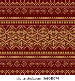 Asian traditional art Design Vector, Thai traditional design, thai background