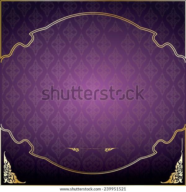 Asian Traditional Art Design Vector