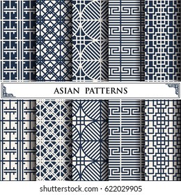 asian vector pattern web page background, surface textures