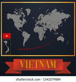 Vietnam Maps Images Stock Photos Vectors Shutterstock