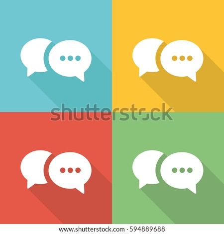 ask listen act flat icon concept stock vector royalty free