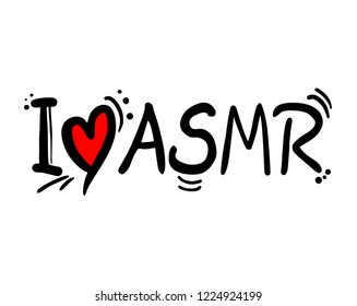 ASMR love message symbol