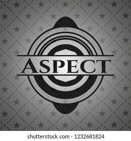 Aspect dark icon or emblem