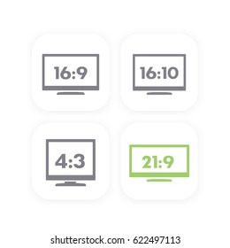 Aspect ratio, widescreen and usual monitors