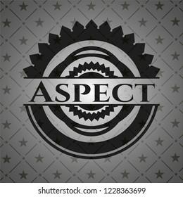 Aspect retro style black emblem