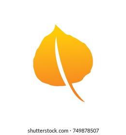 Aspen leaf logo
