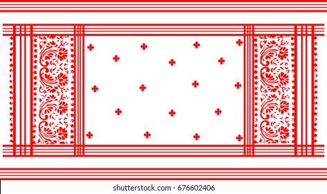 Assamese Traditional Pattern