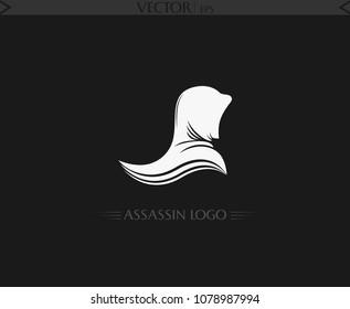 Assassin Logo. Vector Art