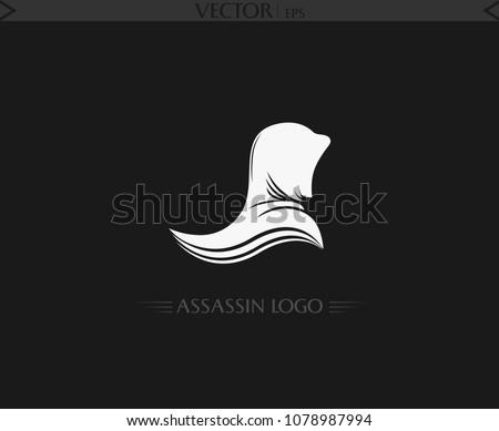 Assassin Logo Vector Art