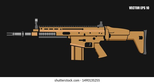 Scar Rifle Images, Stock Photos & Vectors | Shutterstock