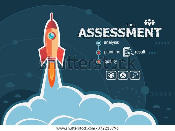 Assessment Concept On Background Rocket Project Stock Vector Royalty Free 372213796 Get your free sample task today. https www shutterstock com image vector assessment concept on background rocket project 372213796