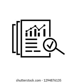 Assessment result of bill invoice sign