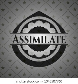 Assimilate dark icon or emblem