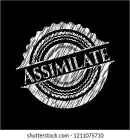 Assimilate on blackboard
