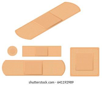 Assortment of Adhesive Bandages