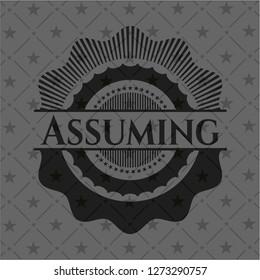 Assuming realistic black emblem
