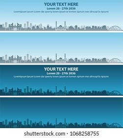 Astana Skyline Event Banner