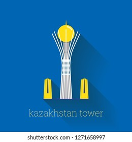 Astana Tower, Kazakhstan Poster Design