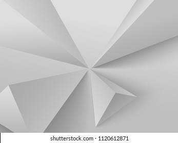 Astract background with grey geometric figures