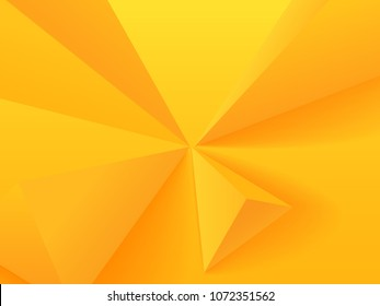 Astract background with yellow geometric figures