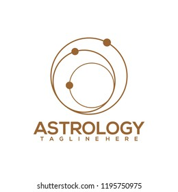 Astrology Logo Design Vector. Astrology Logo Template Ready to Use