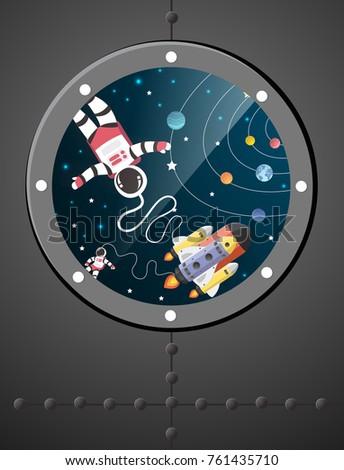 Astronaut Art Project
