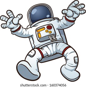 astronaut cartoon stock images royalty free images vectors rh shutterstock com free clipart of astronaut Space Clip Art