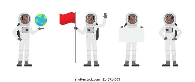 Astronaut vector character design