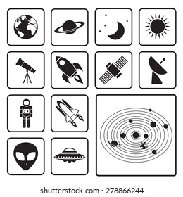 astronomy icon