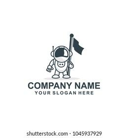 astronot logo vector