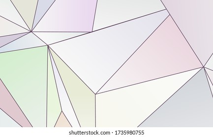 Asymmetrical texture with random chaotic lines, irregular geometric shapes. Light colorful vector illustration of design element for creating modern art backgrounds, patterns. Grunge urban style.